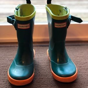 Hunter toddler boots (UK 7 - US 8)